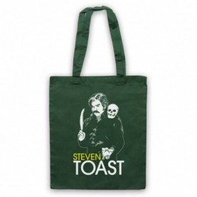 Toast Of London Steven Toast Tribute Dark Green Tote Bag