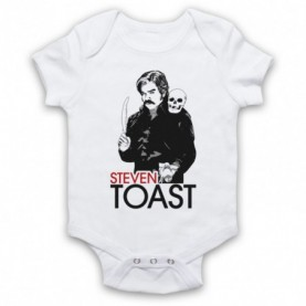 Toast Of London Steven Toast Tribute White Baby Grow