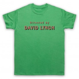 Twin Peaks Directed By David Lynch Mens Green T-Shirt