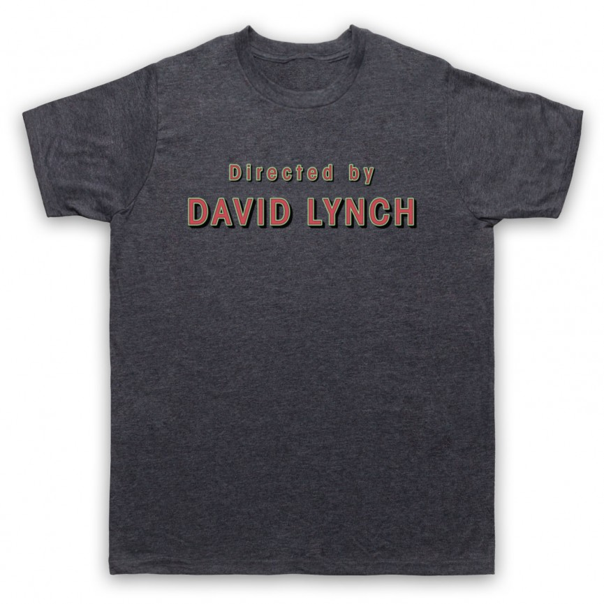 Twin Peaks Directed By David Lynch Mens Heather Slate T-Shirt
