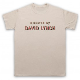 Twin Peaks Directed By David Lynch Mens Sand T-Shirt