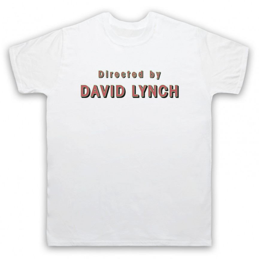 Twin Peaks Directed By David Lynch Mens White T-Shirt