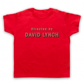 Twin Peaks Directed By David Lynch Kids Red T-Shirt