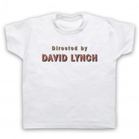 Twin Peaks Directed By David Lynch Kids White T-Shirt