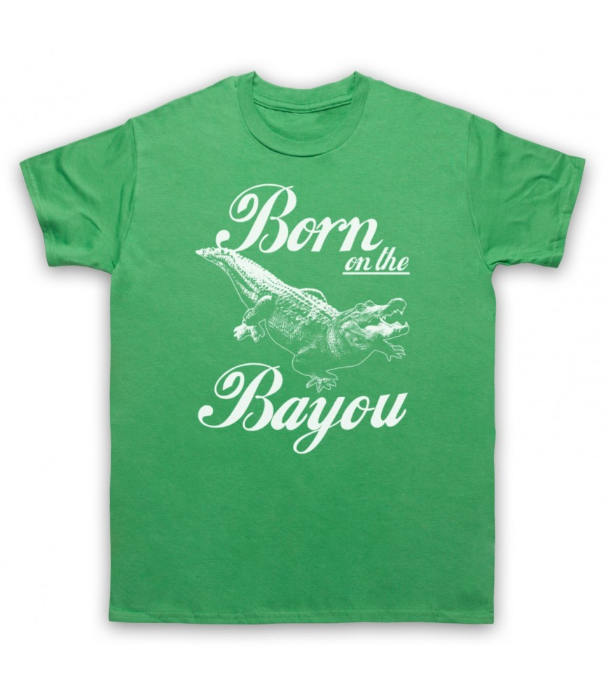 Creedence Clearwater Revival CCR Born On The Bayou T-Shirt T-Shirts