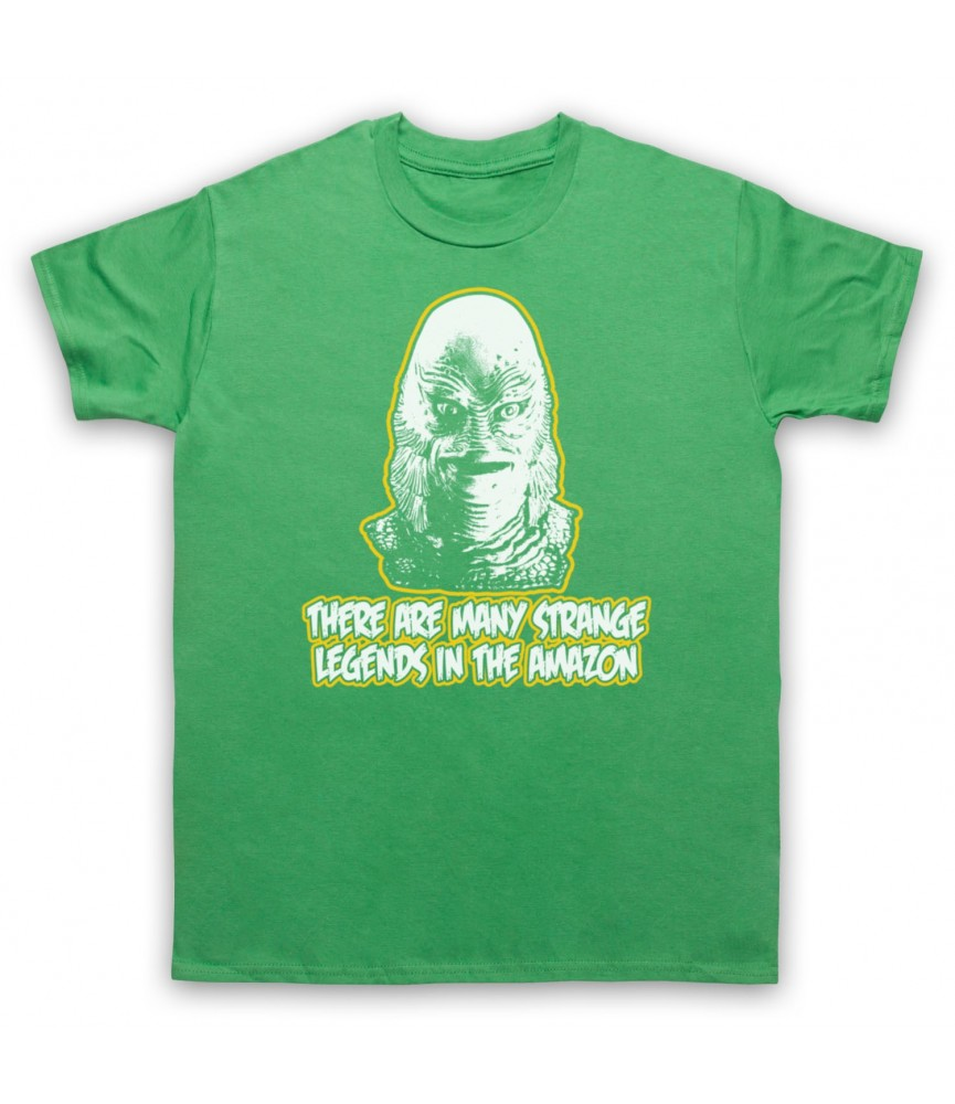 Creature From The Black Lagoon Strange Legends In The Amazon T-Shirt T-Shirts