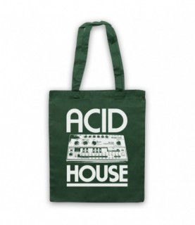 Acid House Bass Synthesizer Tote Bag Tote Bags