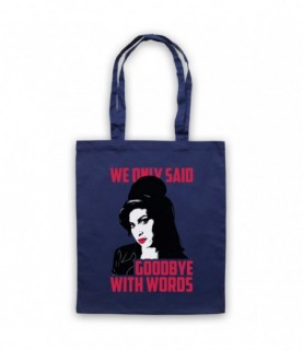 Amy Winehouse Back To Black Tote Bag Tote Bags