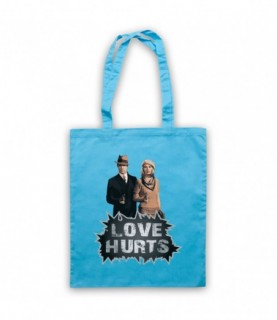 Bonnie & Clyde Love Hurts Tote Bag Tote Bags
