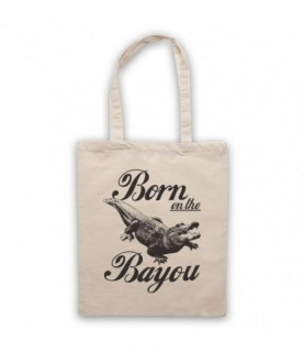 Creedence Clearwater Revival CCR Born On The Bayou Tote Bag Tote Bags