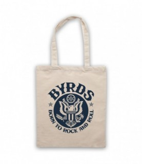 Byrds Born To Rock & Roll Tote Bag Tote Bags