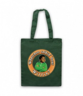 Diffrent Strokes Whatchoo Talkin 'Bout Willis Gary Coleman Tote Bag Tote Bags