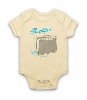 Amplified Guitar Amp Baby Grow Baby Grows