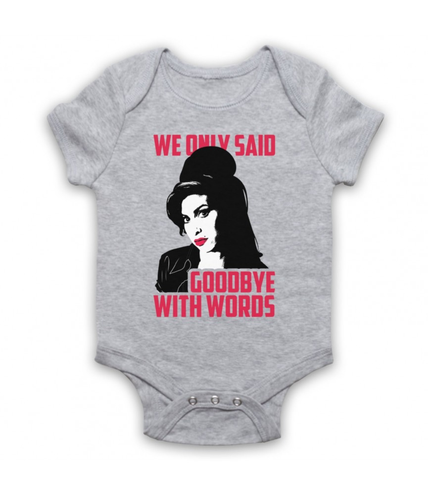 Amy Winehouse Back To Black Baby Grow Baby Grows