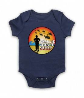 Apocalypse Now Charlie Don't Surf Baby Grow Baby Grows