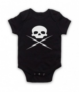 Death Proof Stunt Man Mike Baby Grow Baby Grows