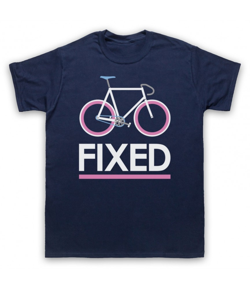 Fixed Gear Bicycle Retro Style T-Shirt T-Shirts