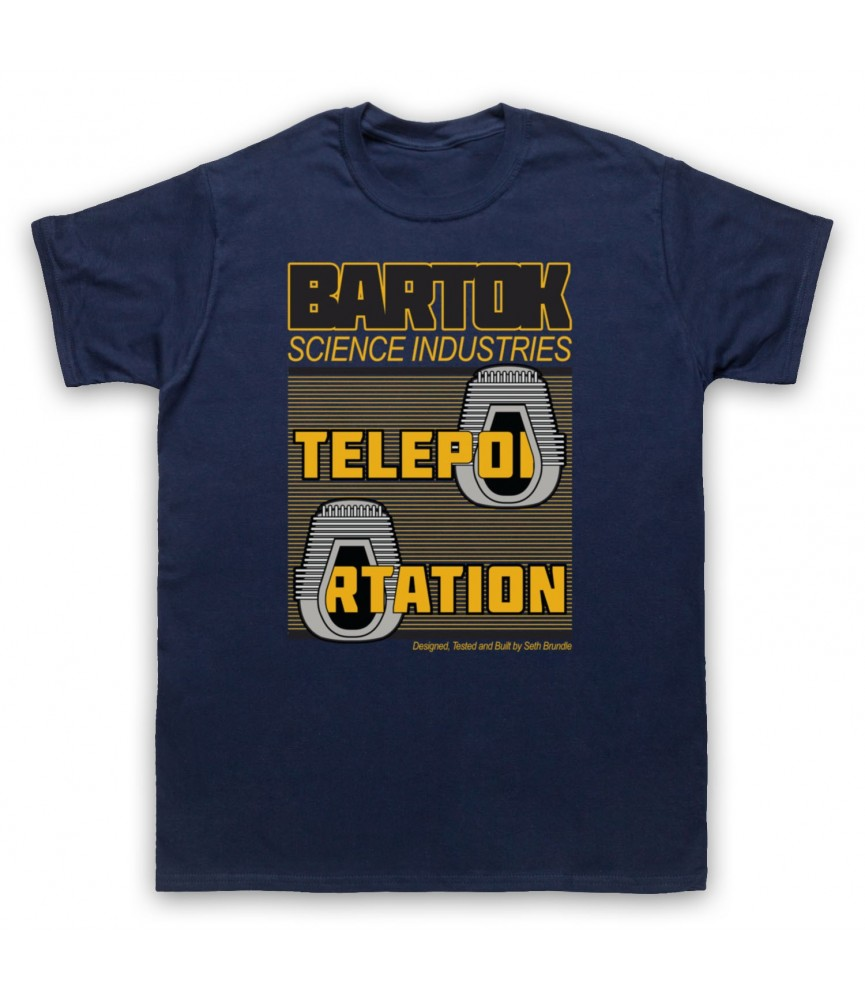 Fly Bartok Science Industries Teleportation T-Shirt T-Shirts
