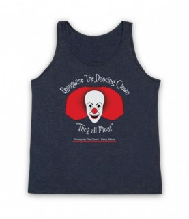 IT Pennywise The Dancing Clown Tank Top Vest Tank Top Vests