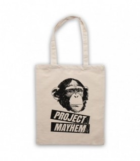 Fight Club Project Mayhem Space Monkey Tote Bag Tote Bags