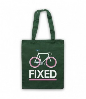 Fixed Gear Bicycle Retro Style Tote Bag Tote Bags