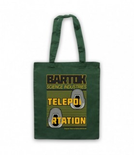 Fly Bartok Science Industries Teleportation Tote Bag Tote Bags