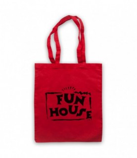 Fun House Contestant TV Show Tote Bag Tote Bags