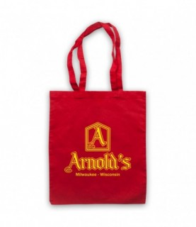 Happy Days Arnold's Restaurant Logo Tote Bag Tote Bags