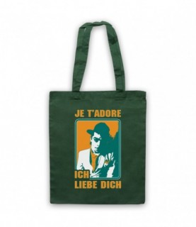 Ian Dury Hit Me With Your Rhythm Stick Tote Bag Tote Bags