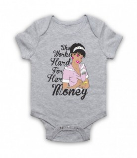 Donna Summer She Works Hard For The Money Baby Grow Baby Grows