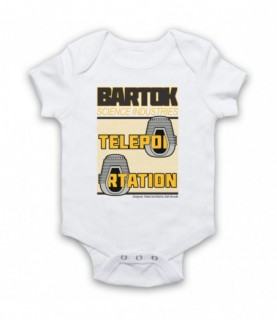 Fly Bartok Science Industries Teleportation Baby Grow Baby Grows