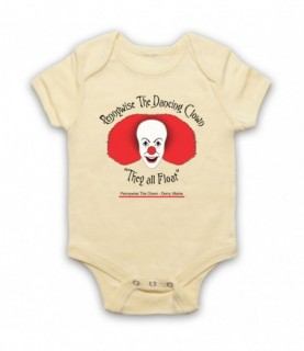 IT Pennywise The Dancing Clown Baby Grow Baby Grows