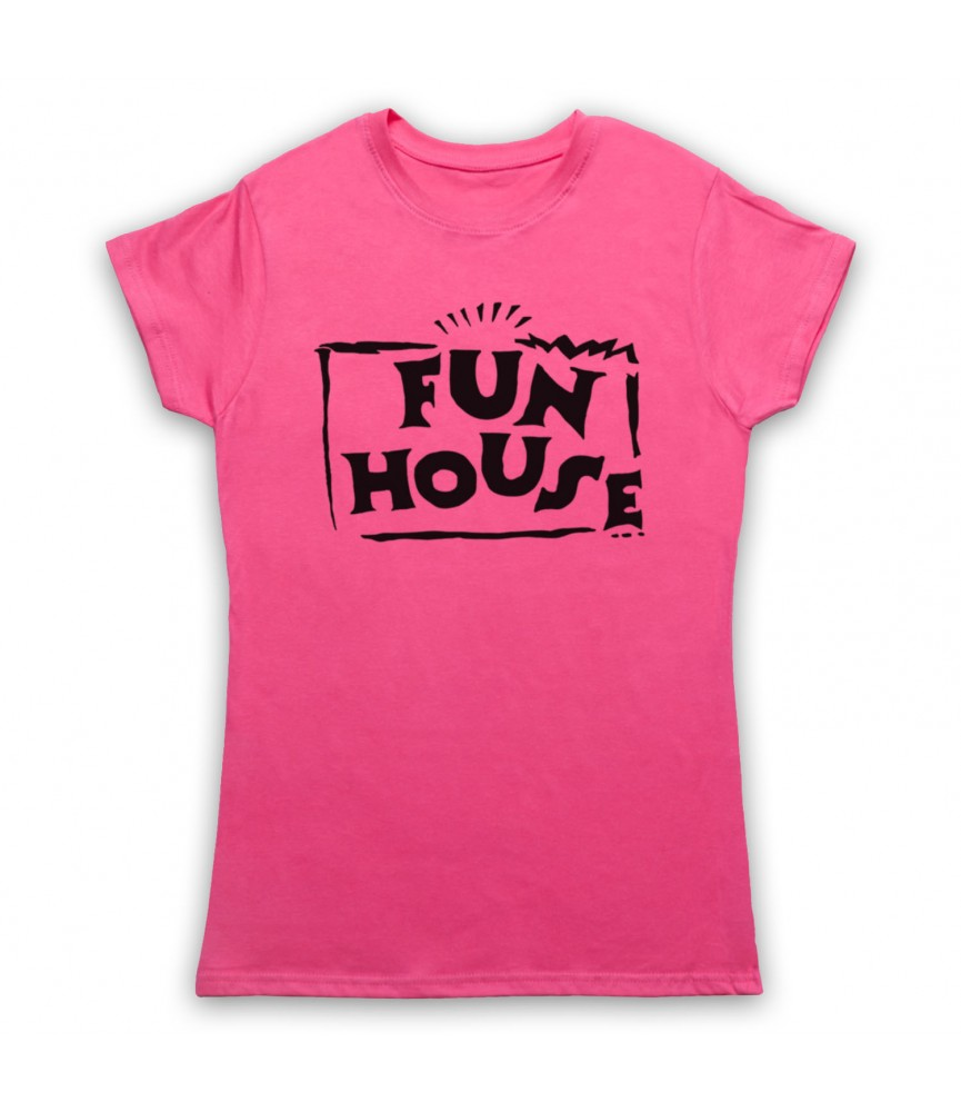 Fun House Contestant TV Show Womens Pink T-Shirt