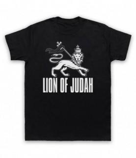 Lion Of Judah Israelite Tribe Jewish Rastafari Symbol T-Shirt T-Shirts