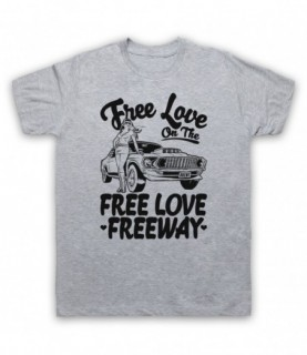 Office Free Love On The Free Love Freeway T-Shirt T-Shirts