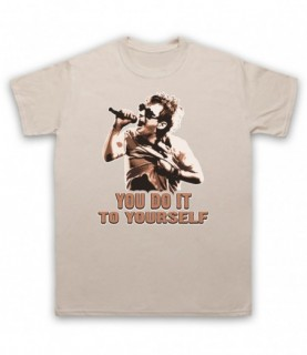 Radiohead Thom Yorke Just You Do It To Yourself T-Shirt T-Shirts