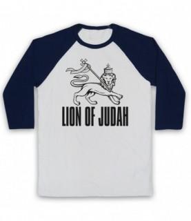 Lion Of Judah Israelite Tribe Jewish Rastafari Symbol Baseball Tee Baseball Tees