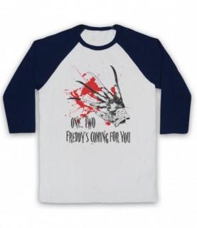 A Nightmare On Elm Street Freddy's Glove Coming For You Baseball Tee Baseball Tees