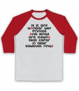 Oasis Go Let It Out Baseball Tee Baseball Tees