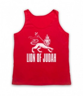 Lion Of Judah Israelite Tribe Jewish Rastafari Symbol Tank Top Vest Tank Top Vests