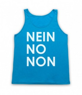 Radiohead Nein No Non As Worn By Thom Yorke Tank Top Vest Tank Top Vests