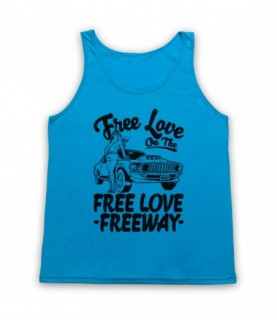 Office Free Love On The Free Love Freeway Tank Top Vest Tank Top Vests