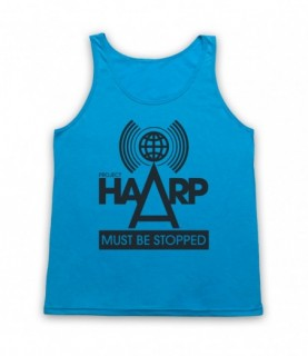 Project HAARP Must Be Stopped Conspiracy Theory Tank Top Vest Tank Top Vests
