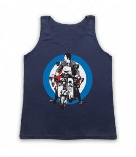 Quadrophenia Jimmy Mod Logo Tank Top Vest Tank Top Vests