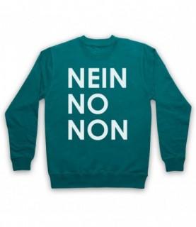 Radiohead Nein No Non As Worn By Thom Yorke Hoodie Sweatshirt Hoodies & Sweatshirts