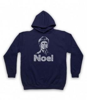 Oasis Noel Gallagher Scribbled Sketch Hoodie Sweatshirt Hoodies & Sweatshirts
