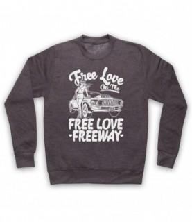 Office Free Love On The Free Love Freeway Hoodie Sweatshirt Hoodies & Sweatshirts