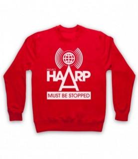 Project HAARP Must Be Stopped Conspiracy Theory Hoodie Sweatshirt Hoodies & Sweatshirts