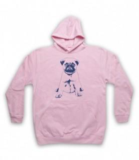 Pug Dog Cute Puppy Hoodie Sweatshirt Hoodies & Sweatshirts