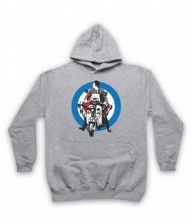 Quadrophenia Jimmy Mod Logo Hoodie Sweatshirt Hoodies & Sweatshirts